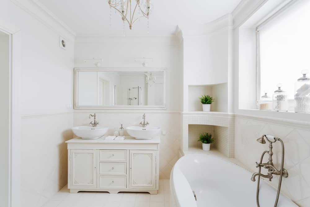 a minimalist bathroom can save you time and money