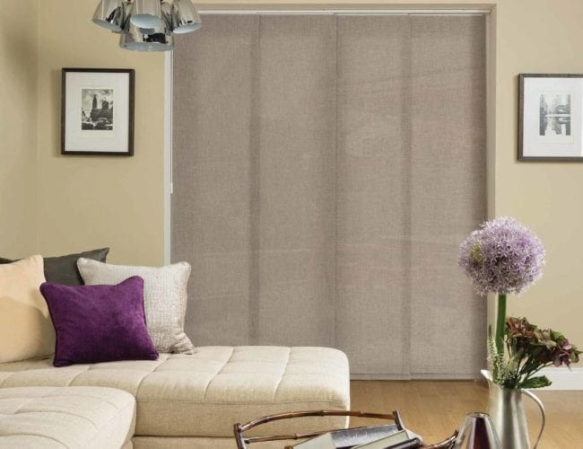 Lounge panel blinds