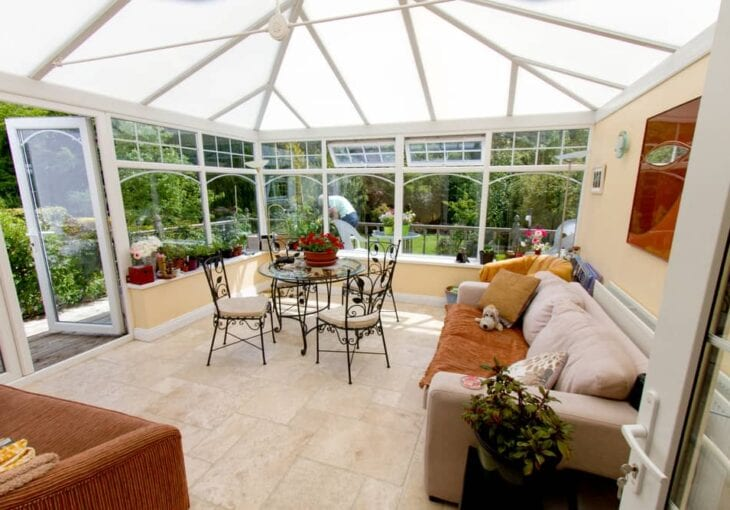 conservatory blinds can help you control the light